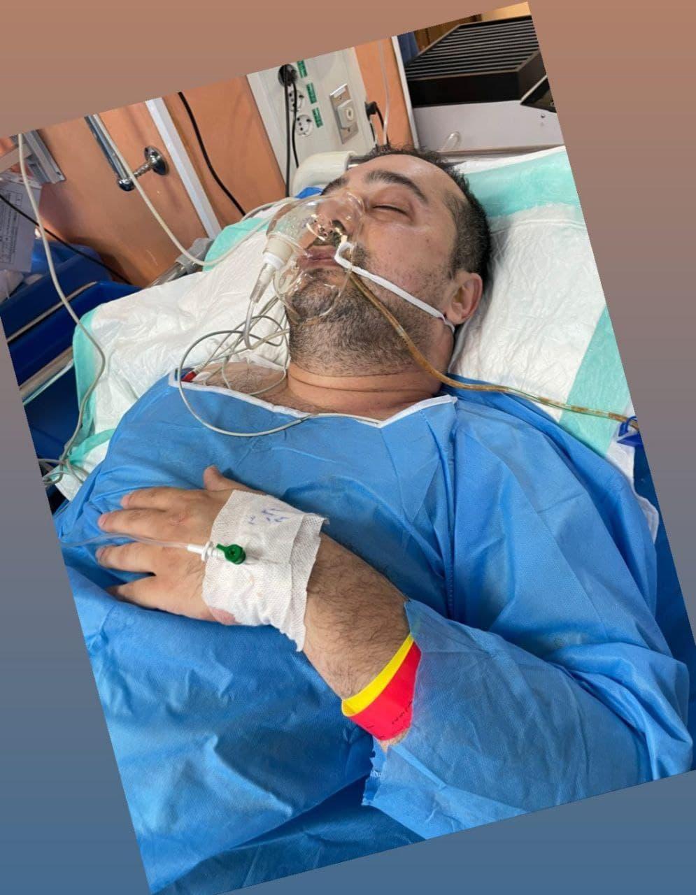 عوارض ناشی از کرونا سپند امیرسلیمانی را به جراحی کشاند!